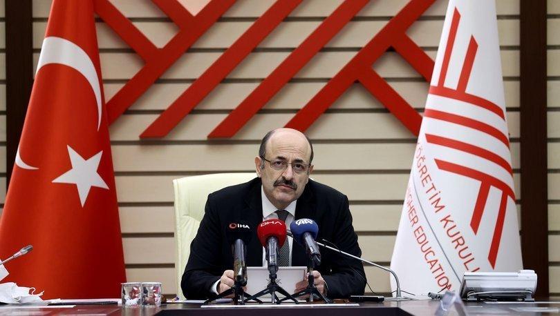 Eski YÖK Başkanı Yekta Saraç: YÖK'ü, halılarının altı tertemiz olarak bırakıyoruz