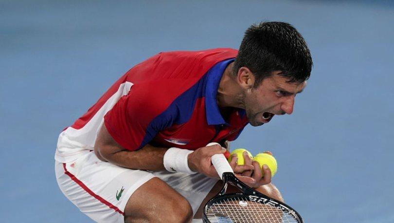 Djokovic'ten Tokyo'ya erken veda!