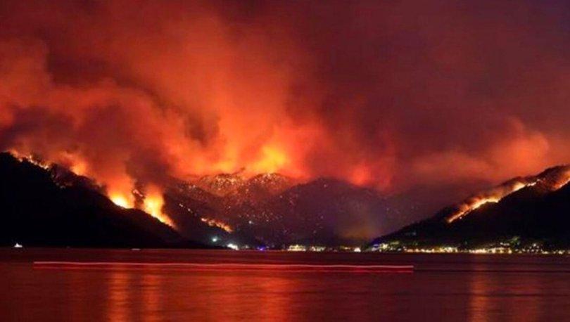 İşte online orman yangınları son durum haritaları! Haberler