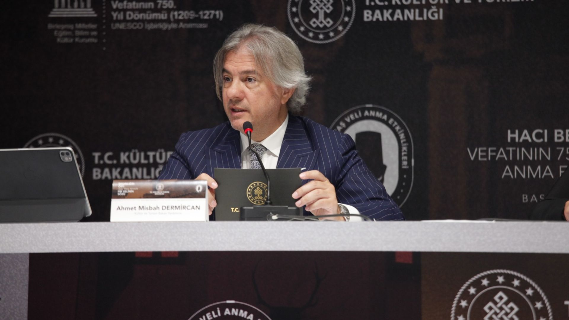 Kültür ve Turizm Bakan Yardımcısı Ahmet Misbah Demircan: UNESCO iş birliğiyle ev sahipliği yaptık