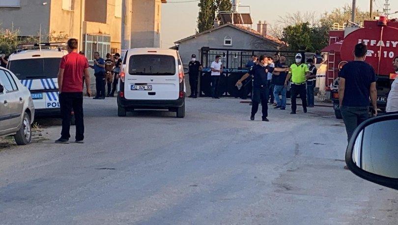 SON DAKİKA! Konya'daki saldırı olayında 10 gözaltı!