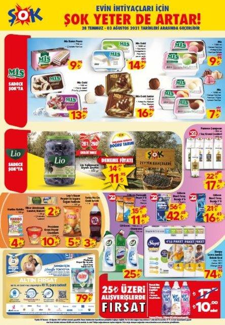 3 Ağustos 2021 ŞOK aktüel kataloğu: ŞOK'ta bu hafta neler var? ŞOK market indirimli ürünler listesi