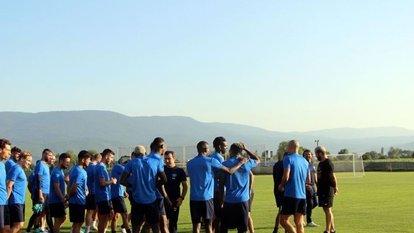 Adana Demirspor'un Bolu kampı bitti