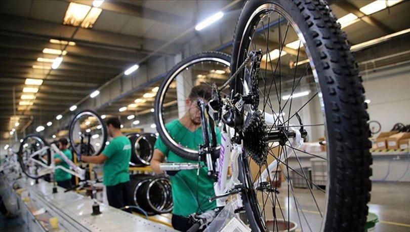 Bisiklet ihracatı 6 aylık dönemde yüzde 88 arttı