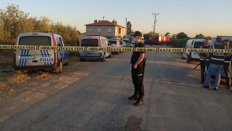 Son dakika haberi Konya'daki katliamda 10 gözaltı!