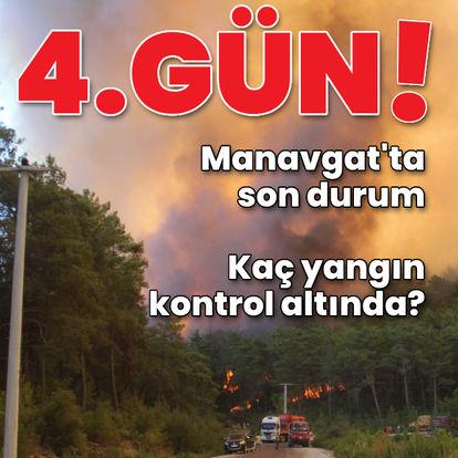 Türkiye'yi saran yangınlarda son durum!