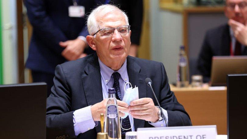 AB Yüksek Temsilcisi Borrell: Türkiye'ye yangın felaketiyle ilgili destek sağlamaya hazırız