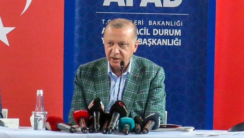 SON DAKİKA YANGIN: Cumhurbaşkanı Erdoğan orman yangını bölgesinde!