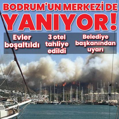Bodrum'da bir yangın daha!