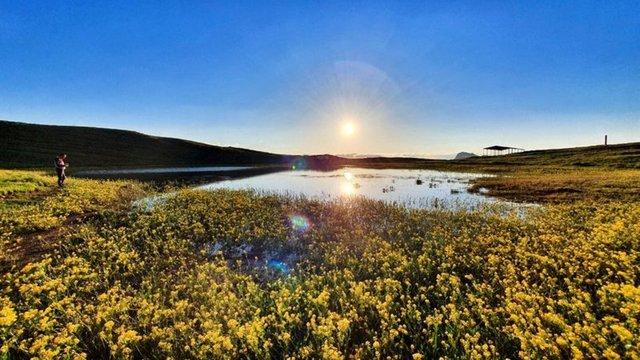 KURUDU... Son dakika: Dipsiz Göl'de yürek yakan manzara