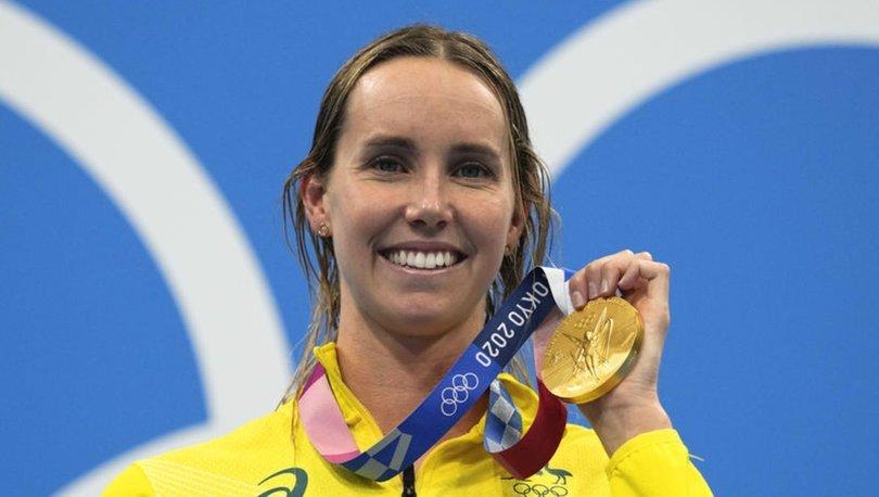 Emma McKeon altın madalyaya uzandı