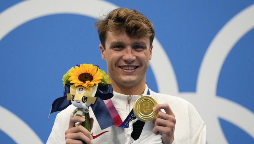 Robert Finke altın madalya kazandı