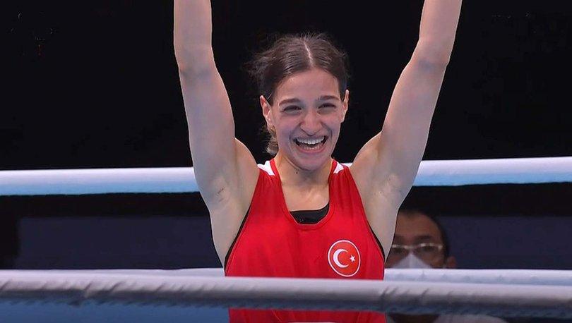 Son dakika: Yarı finale yükselen Buse Naz Çakıroğlu olimpiyat madalyasını garantiledi