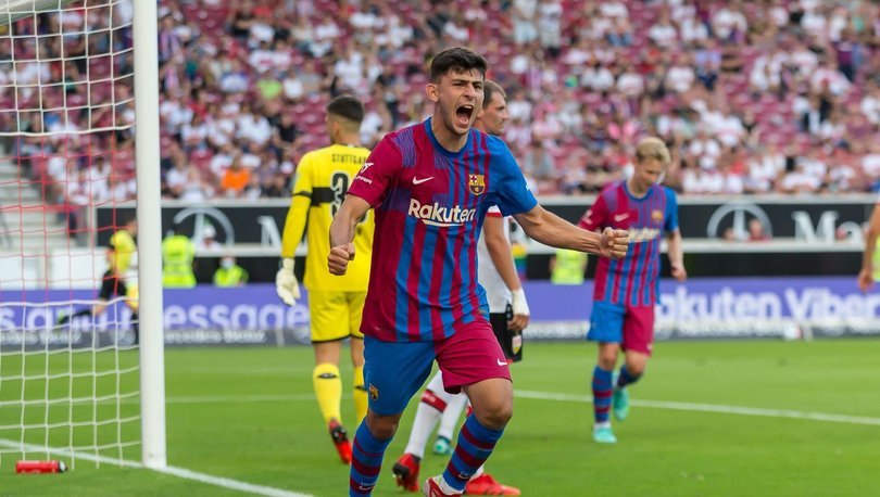 Yusuf Demir, Barcelona'da ilk golünü attı