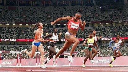 Camacho-Quinn'den olimpiyat rekoru!