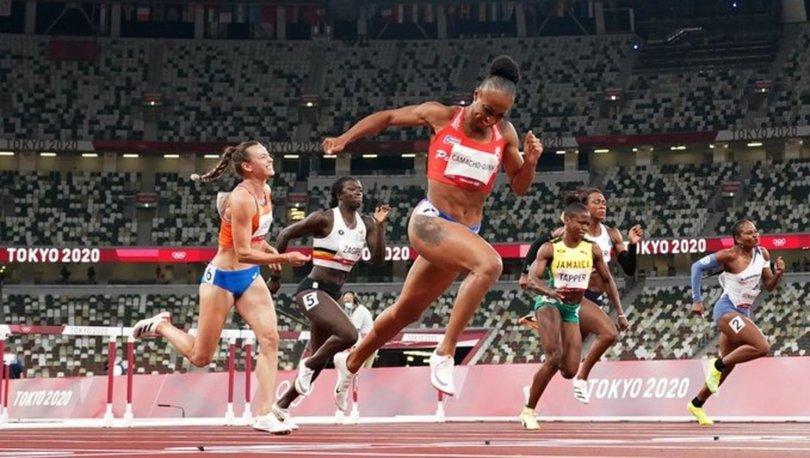 Jasmine Camacho-Quinn'den 100 metre engellide olimpiyat rekoru