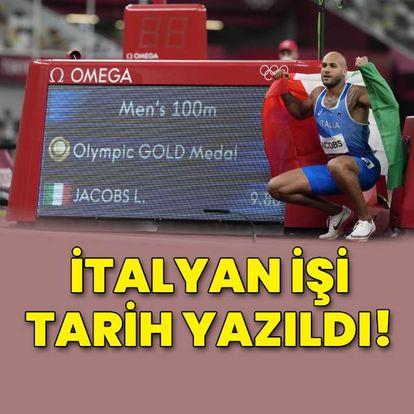 İtalyan atlet tarih yazdı!