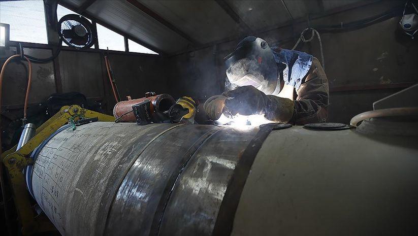 Karadeniz gazı için boru üretimi başladı