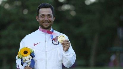 Golfte altın Schauffele'nin