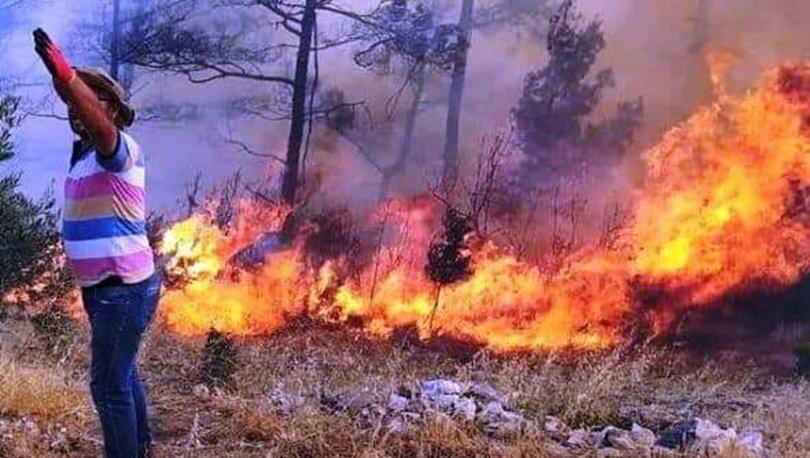 Muğla'da bir son dakika yangını daha! Durdurulamıyor... - Haberler