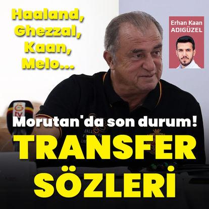 Terim'den transfer sözleri!