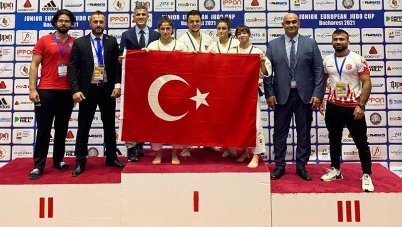 Gençler Avrupa Judo Kupası'nı 9 madalyayla tamamladık