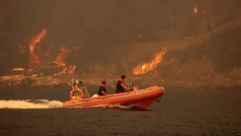Çökertme'de yangın devam ediyor! Alevler termik santrale ilerliyor