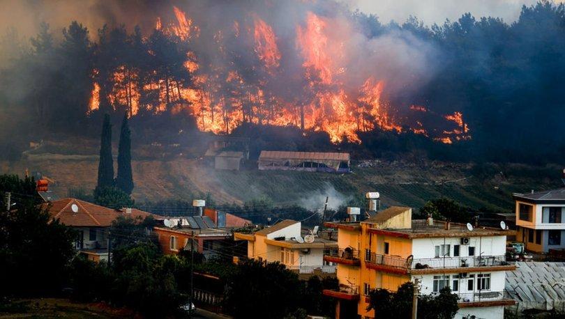 Hangi illerde yangın var? Türkiye'de yangın olan iller 1 Ağustos! Orman yangını olan illerimiz...
