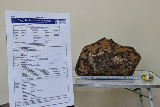 Piknik yaparken fark etti, kayıtlara geçti! Uluslararası Meteorit Veri Bülteni'ne işlendi