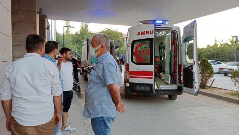 Kayseri'de nişan töreni sırasında balkon çöktü: Yaralılar var