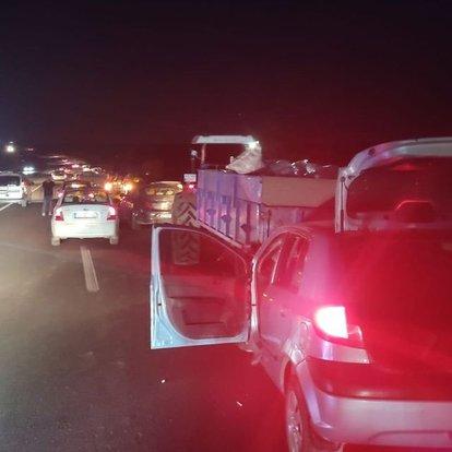 Adıyaman'da 3 aracın karıştığı zincirleme kazada 8 kişi yaralandı