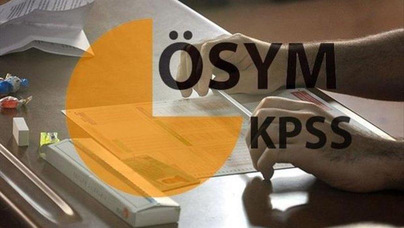 KPSS soru ve cevapları YAYINDA! 2021 KPSS soru ve cevapları ÖSYM sayfası