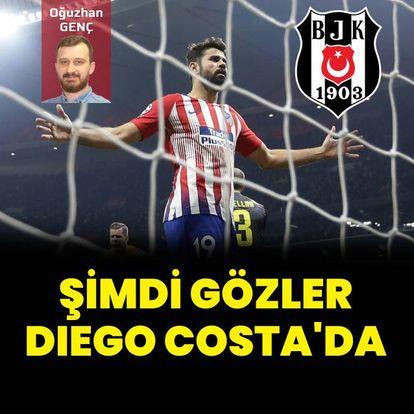 Şimdi gözler Diego Costa'da!
