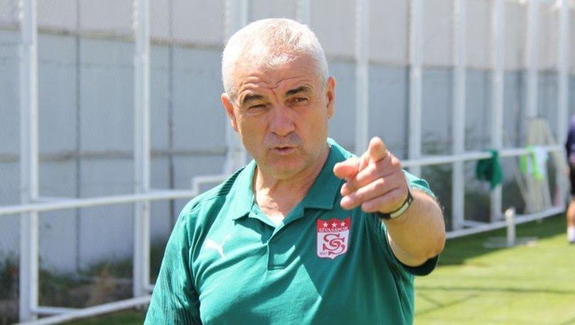 Sivasspor Teknik Direktörü Çalımbay'ın hedefi tur atlamak