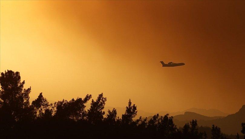 AB, Türkiye'ye yangın söndürme uçağı desteğinde bulunuyor