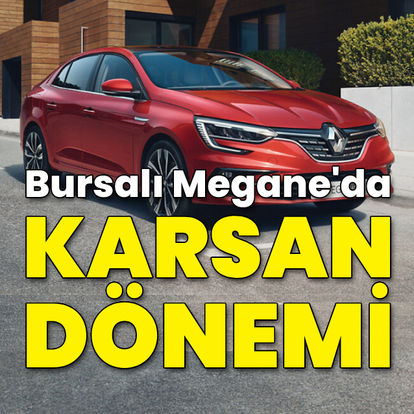 Bursalı Megane'da Karsan dönemi!