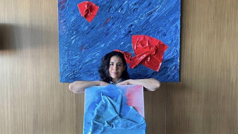 Arezo Khosroshahi sanat aşkını tualine aktardı - Magazin haberleri