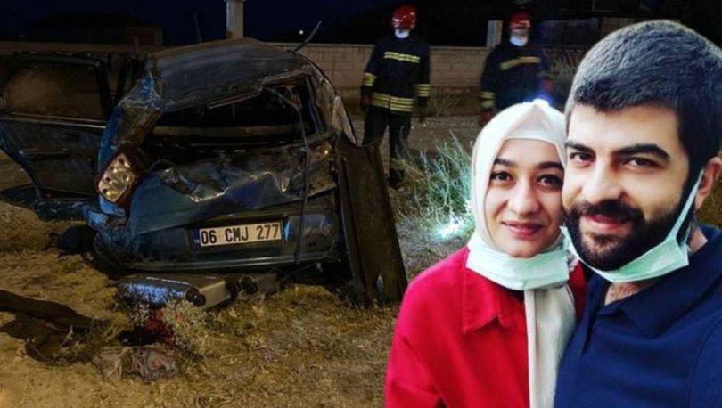 SON DAKİKA: Genç çift ile çocuklarını ayıran feci kaza