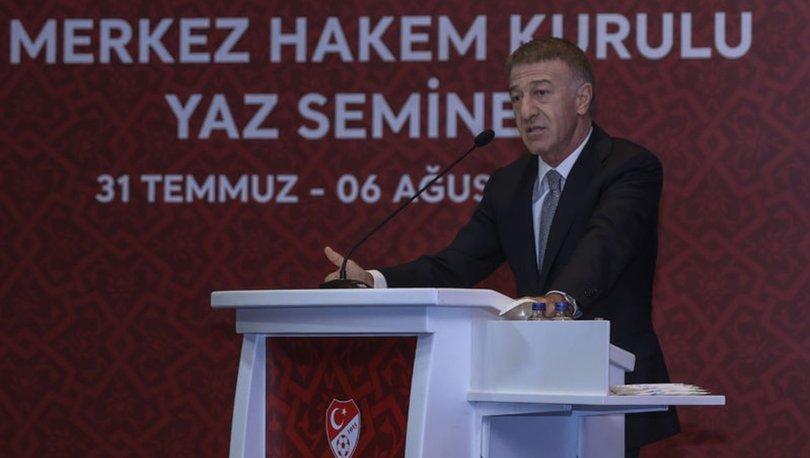 """Ahmet Ağaoğlu: """"Biz futbolda adalet ve hakkaniyet istiyoruz"""""""