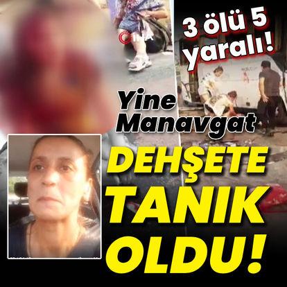 Manavgat'ta feci kaza! Ölüler ve yaralılar var