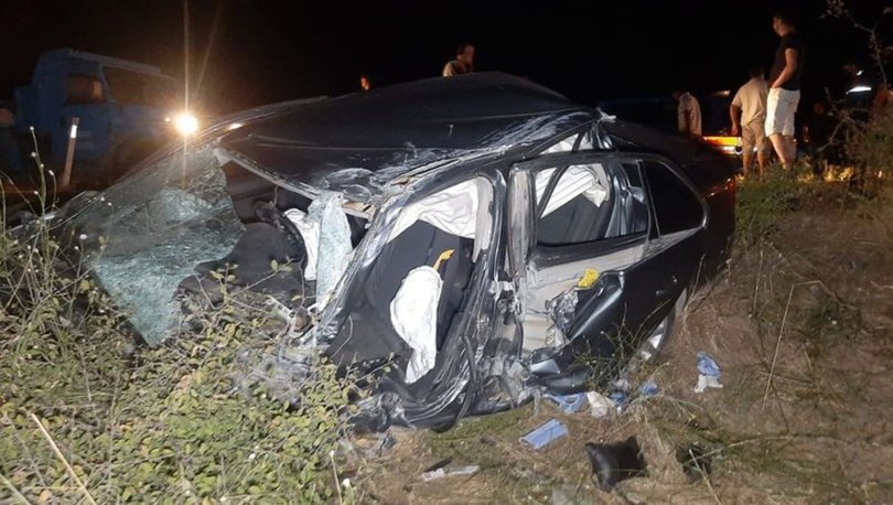 TIR ile çarpışan otomobilin sürücüsü hayatını kaybetti