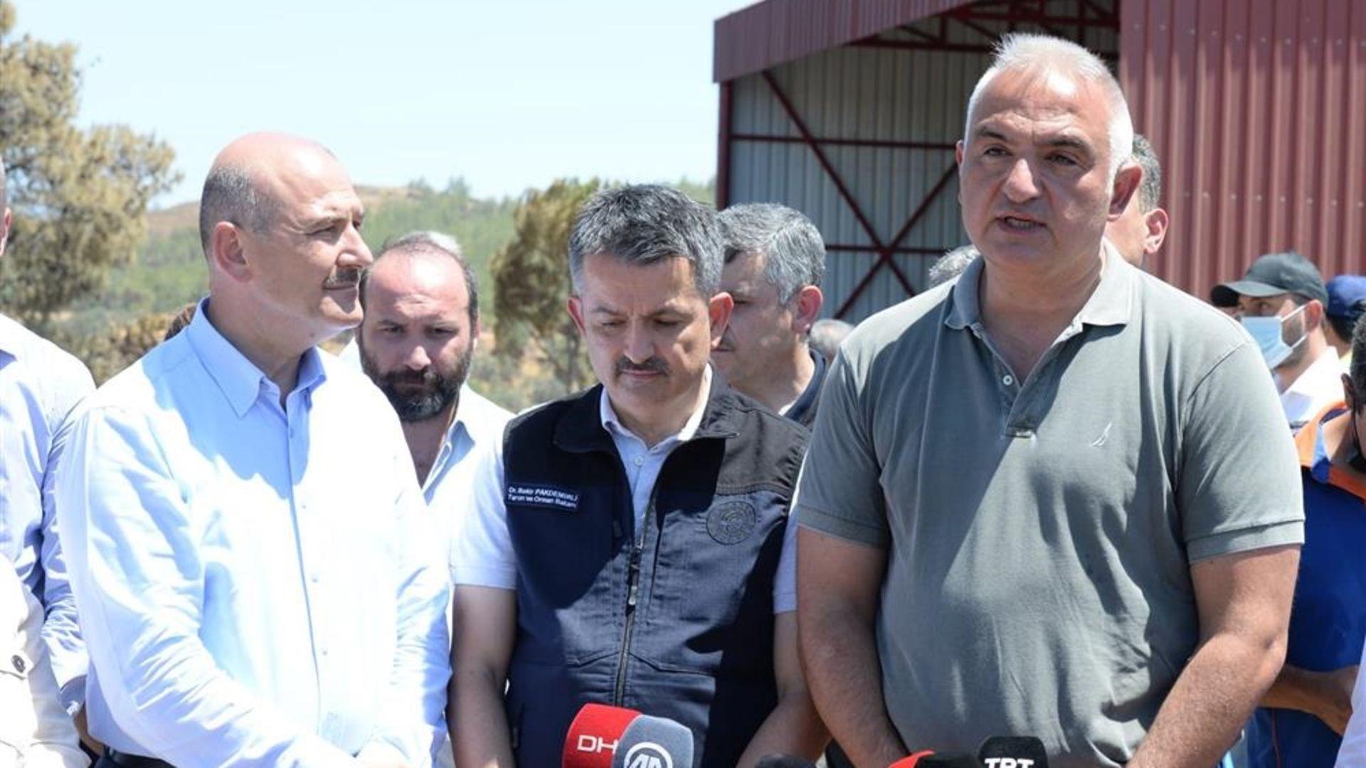 Mehmet Nuri Ersoy:Yanan araziler orman arazileri öncelikli olarak ağaçlandırılması gereken arazilerdir