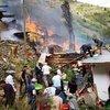 Yusufeli'nde korkutan yangın: 10 ev kül oldu