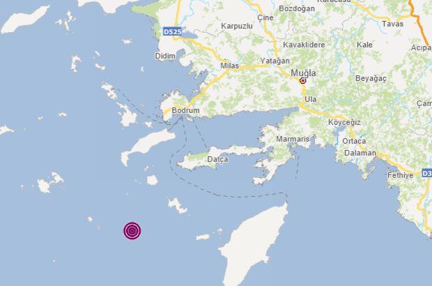 Datça açıklarında 5 büyüklüğünde deprem!
