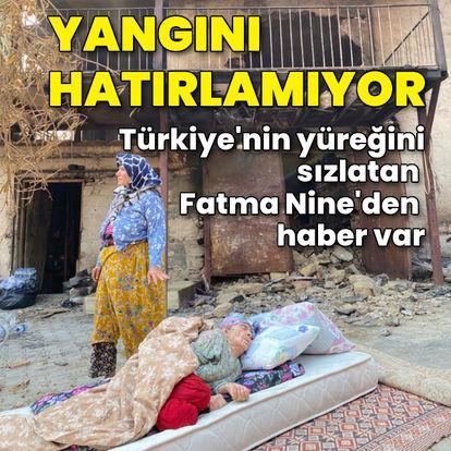 Türkiye'nin yüreğini sızlatmıştı! Evin yandığını hatırlamıyor