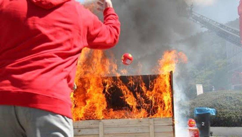 Yangın söndürme topu fiyatında yüzde 100'ü geçen artış! Fırsatçılar yine iş başında