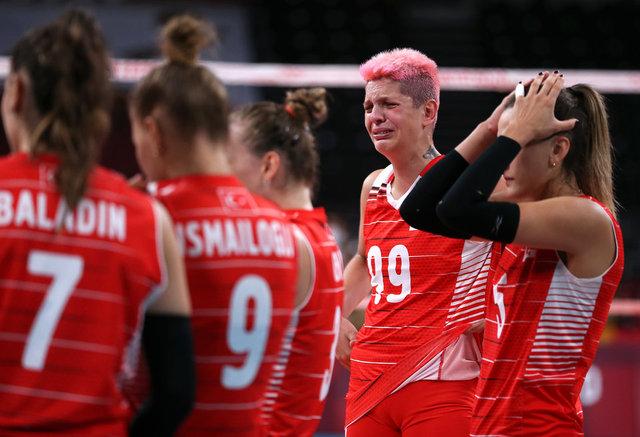Filenin Sultanları, Güney Kore maçının ardından yıkıldı kaldı, gözyaşlarını tutamadı! Canınız sağ olsun
