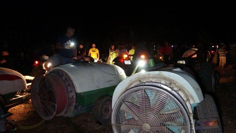 Isparta'daki Kovada Milli Parkı'nda çıkan yangın söndürüldü