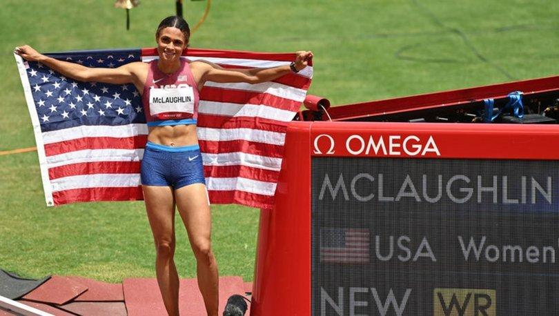 Mclaughlin dünya rekoruyla altını kaptı!