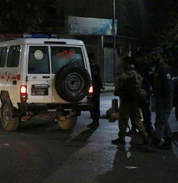 Kabil'de saldırı: Taliban üstlendi